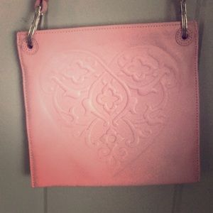 Brighton Pink Leather handbag